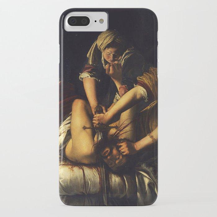 judith beheading holofernes - gentileschi iphone case