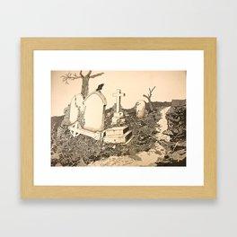 Highgate Framed Art Print