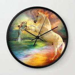 Hearts In Harmony Wall Clock