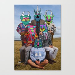 creatures family Canvas Print