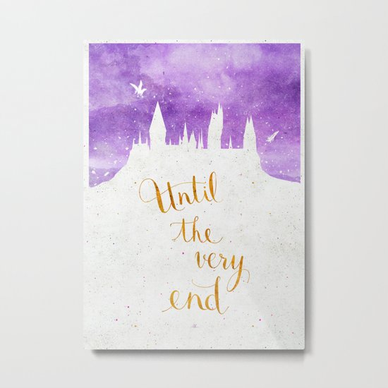 Until the very end Metal Print