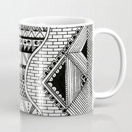 Wavy Geometric Patterns Coffee Mug