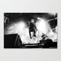 gorillaz Canvas Prints featuring Damon Albarn (Blur) - I by Tomás Correa Arce (RockMe TommyBoy)