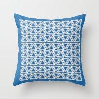 escher Throw Pillows featuring Escher #005 by rob art | simple
