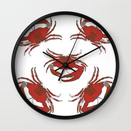 Sea-life Collection - Crustaceans Wall Clock