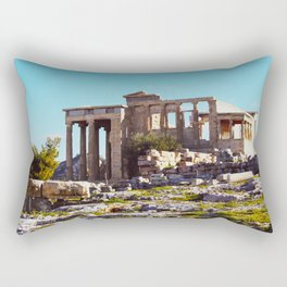 temple of athena Rectangular Pillow