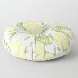 Lemon Drop Floor Pillow