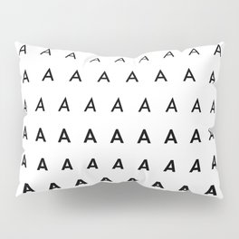 For Type Lovers. Futura. A Pillow Sham