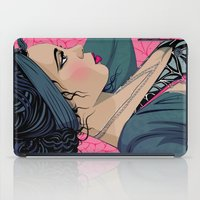 cook iPad Cases featuring Hollie Cook by Mamakhol