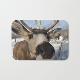 The Friendly Buck Bath Mat