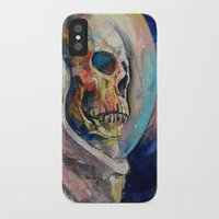 astronaut iPhone & iPod Cases featuring Astronaut by Michael Creese