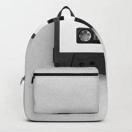 Music Tape (Black and White) Backpack