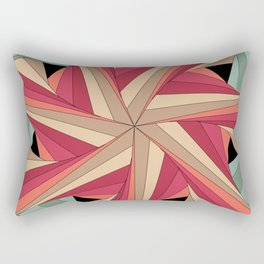 Geometric Mandala / Nothing happens by chance Rectangular Pillow