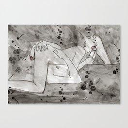 sixty nine Canvas Print