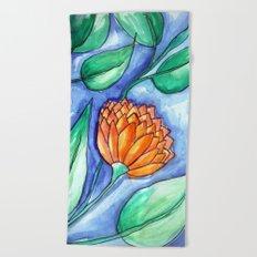 Flowers 1 Beach Towel
