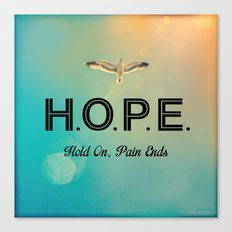 Always Have Hope Canvas Print