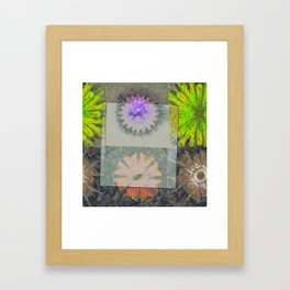 Enhalo Head Trip Flower  ID:16165-013931-49391 Framed Art Print