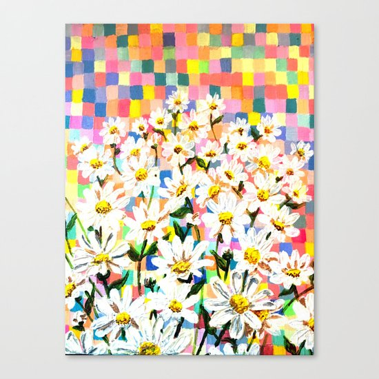 Land of Daisies Canvas Print
