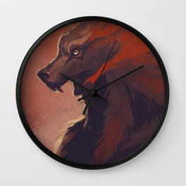 Lone Wolf Hanzo Wall Clock