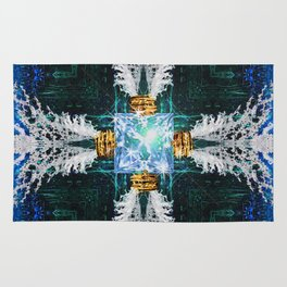 Embrace Blue Rug