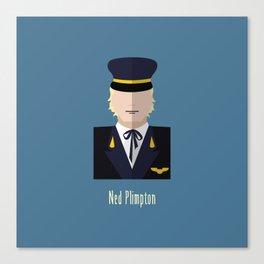 Ned Plimpton Canvas Print