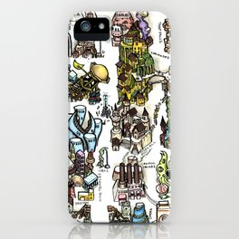 The Lost City of Forgotten Gods iPhone Case