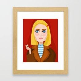 Margo Tenenbaum Framed Art Print