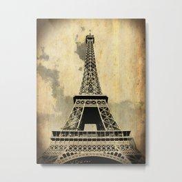 Torre Eiffel Metal Print