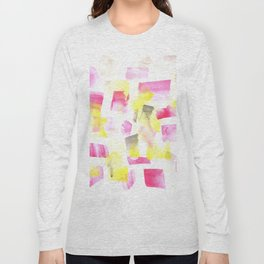 180515 Abstract Watercolour 1 | Watercolor Brush Strokes Long Sleeve T-shirt