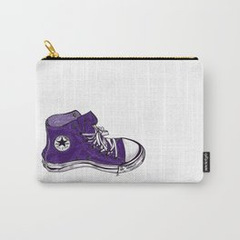 my purple high tops Carry-All Pouch