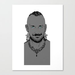 Diamond Beard Canvas Print