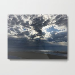 Storm on Hilton Head Island Metal Print