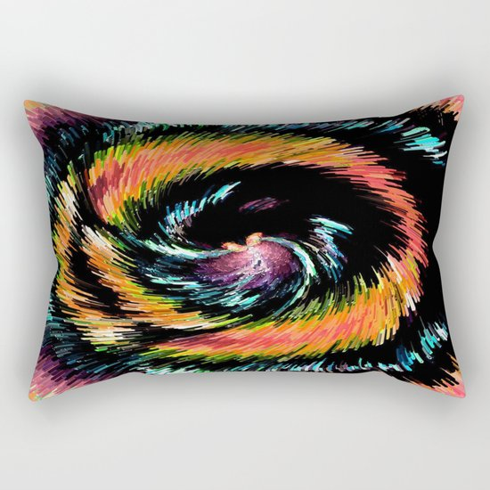 Every Day With You Is Colorful - Whirlwind Romance  Rectangular Pillow