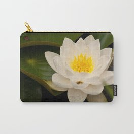 White Water Lilly Carry-All Pouch