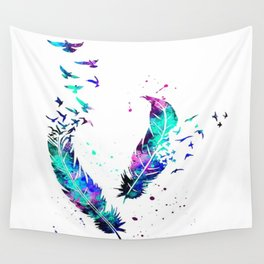 Birds of a Feather Wall Tapestry