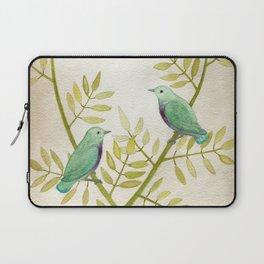 Celadon Birds Laptop Sleeve
