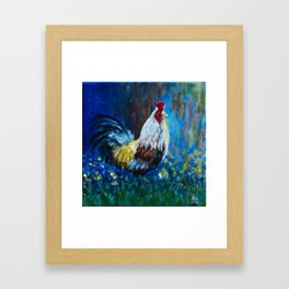 Rooster II Framed Art Print
