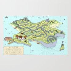 Eagle Island Maze Rug