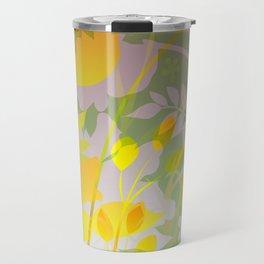 Woodland Awakening - yellows Travel Mug