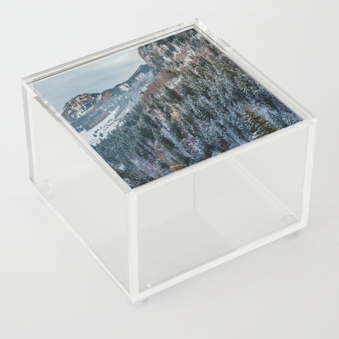 Forest - Bavarian alps Acrylic Box
