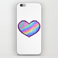 Holographic Heart iPhone & iPod Skin