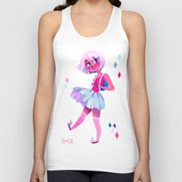 bubblegum Tank Tops featuring Bubblegum by Anoosha Syed