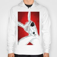 kangaroo Hoodies featuring Kangaroo by Soso Creation