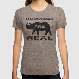 Unicorns Are Real T-shirt