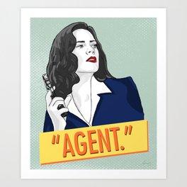 Agent Carter V.1 Art Print