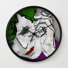 David Bowie as The Joker Wall Clock
