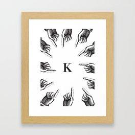 Franz Kafka, The trial Framed Art Print