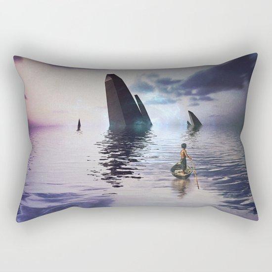 Get Off the island Get off island Rectangular Pillow