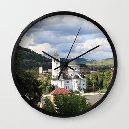 Sighisoara III Wall Clock