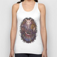 scales Tank Tops featuring scales by Miru